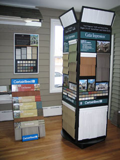 Crane Siding Display